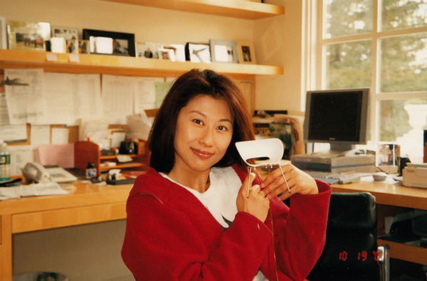 Sally Yeh with Vitra Miniatures