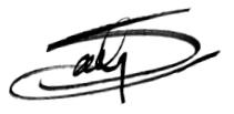 Sally's Autography